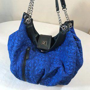 Petunia Pickle Bottom Blue Hobo Hideaway Bag